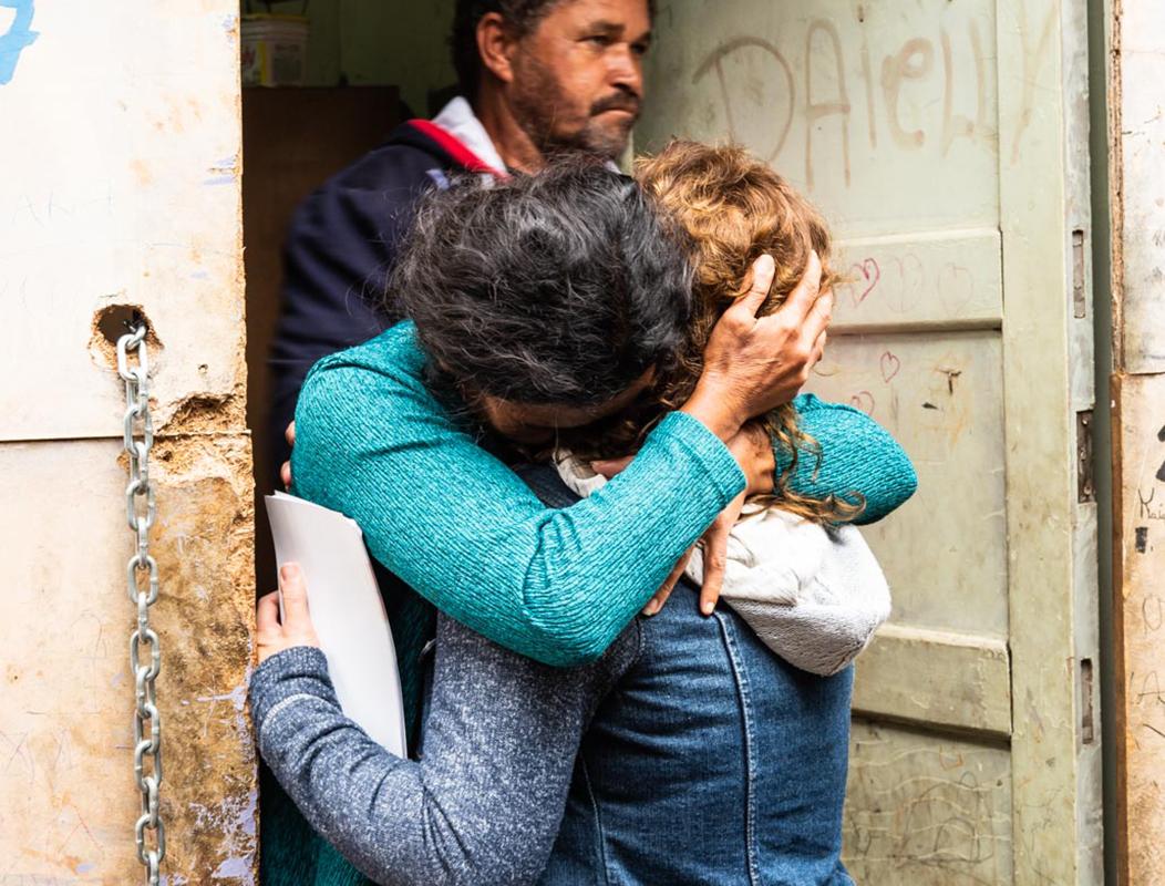 Emotioneel gebed voor iemand in Brazilië